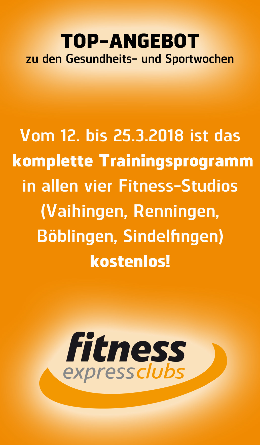 Top Angebot Fitness Clubs
